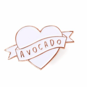 JustHelina Avocado Enamel Pin Competition