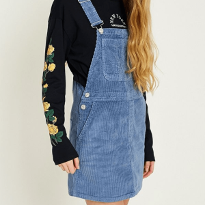 JustHelina Pinafore Dress UO