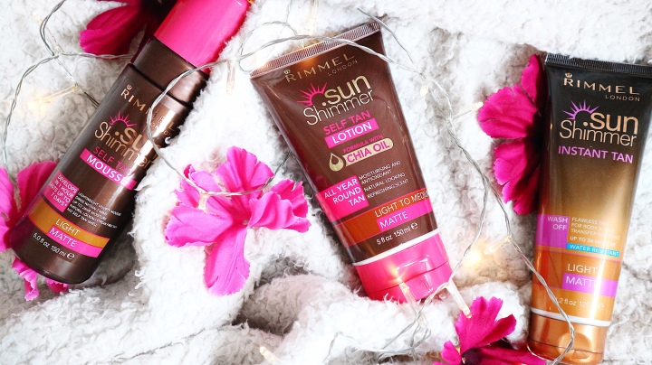 Tanning with Rimmel Sun Shimmer: Review!
